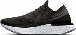 Nike Men's Epic React Flyknit Running Shoes 12 Black dark Grey