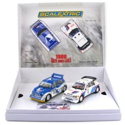 Scalextric - C3590A 1986 Monte Carlo Rally Ltd Edn - Peugeot V Metro 6 Only 2000 Produced