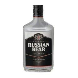 Russian Bear Vodka 375ML X 12