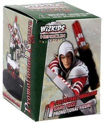 Wizkids Heroclix Assassin's Creed Promo Holiday Elf Assassin Figure With Card