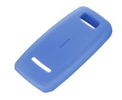 Nokia Soft Cover Asha 306 - Blue