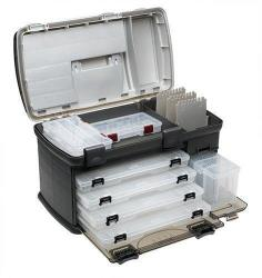 Premium Tackle Box Fishing Plano Fish Organizer Boxes With 4 Tray Drawer Large 7771 Big Design