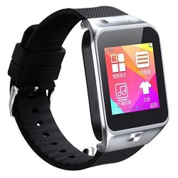 Bluetooth Smart Watch Phone For Android Ios 2015 Touch Screen Android BT3.0 Can Insert Sim Car Smart