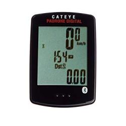 Cat Eye Padrone Digital Double Speed And Cadence Bike Computer Black