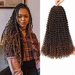 Passion Twists Braiding Hair 18INCH Crochet Passion Twist Pretwisted Passion Twist Hair For Black Women 18INCH T30