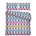 Mainstays - Double Microfiber 3PC Comforter Cara Geometric