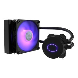 Cooler Master Masterliquid ML120L V2 Rgb Liquid Cooler 120MM Radiator 1 X 120MM Airbalance Rgb Fan Rgb Controller Included Fans & Cooling Sy