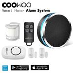 Coowoo ST30 Professional Wireless Smart Home Security Alarm System Diy Kit App Control By Smartphone Works With Amazon Alexa