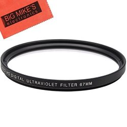 Big Mike's 67MM Multi-coated Uv Protective Filter For Nikon D5600 D7500  With Af-s Dx Nikkor 18-140MM F 3 5-5 6G Ed VR | R540 00 | Car Parts &