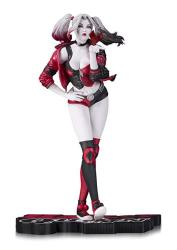 DCME7 Dc Collectibles Harley Quinn Red White & Black Harley Quinn By Terry Dodson Statue