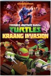 Teenage Mutant Ninja Turles: Kraang Invasion Dvd