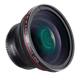 Neewer 58mm 043x Professional Hd Wide Angle Lens Macro Portion For