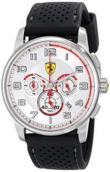 Ferrari Men's 0830064 Analog Display Japanese Quartz Black Watch