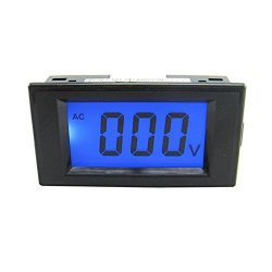 Blue Lcd Digital Volt Panel Meter Voltmeter Ac 0-200V 4 Wire