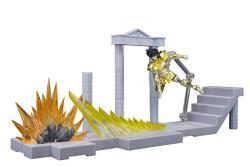 Tamashii Nations Bandai D.d.panoramation Glittering Excalibur In The Palace Of Rock Goat -capricorn Shura- Saint Seiya Action Figure