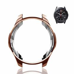 Soulen Compatible With Samsung Galaxy Watch 46MM Case 2018 For SM-R805 SM-R800 gear S3 Frontier SM-R760 S3 Classic SM-R770N Soft Tpu Smart