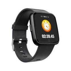 Goral Y07 Brightness 1.3 Inch Multi-sport Modes 24H Heart Rate Monitor Music Contr