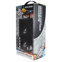 Pro Bass Boss Series Bt Tower Speaker Black