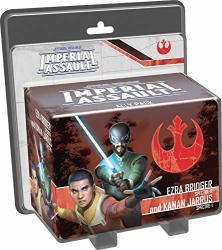 Asmodee Ffg Star Wars Imperial Assault: Ezra Bridger And Kanan Jarrus Ally Pack