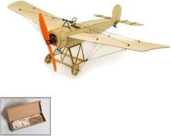 USA Balsa Wood Airplane Kit Micro 3CH 378MM Fokker Eindecker By Dw Hobby Remote Control Balsa Wood Laser Cut Plane Fokker E For Adults Rc