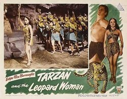 Pop Culture Graphics Tarzan And The Leopard Woman Poster Movie 1946 Style B 11 X 14 Inches - 28CM X 36CM Johnny Weissmuller Bren