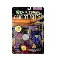 "Playmates Geordi Laforge Star Trek Starfleet Academy Cadet 4.5"" Action Figure"