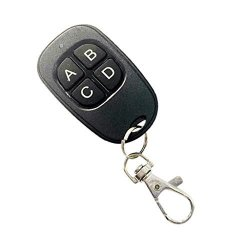 Homyl 4-CHANNEL Universal Door Gate Key Duplicator Key Replacement Garage Door Clone Remote Control Key Starter 433MHZ
