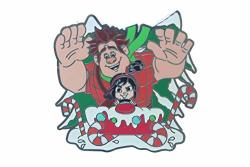 Disney Wreck It Ralph And Vanellope Holiday Pin