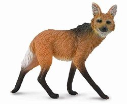 CollectA Wildlife Maned Wolf Toy Figure - Authentic Hand Painted Model