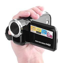 Foshin Portable Rotatable 2.0 Lcd Display Screen MINI Digital Video Camera Camcorders
