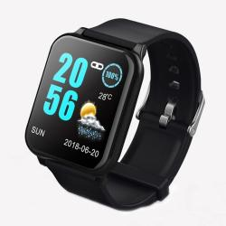 Z02 1.3 Inch Tft Color Screen IP67 Waterproof Smart Bracelet Support Call Reminder Heart Rate Monitoring blood Pressure Monitoring Sleep Monitoring blood Oxygen Monitoring Black