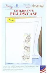 USA Jack Dempsey Sleepy Bears Children's Pillowcase