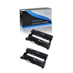 Kcmytoner 2 Packs Compatible For Brother DR630 DR-630 Drum Unit Use With HL-2340DW HL-2380DW HL-2300D DCP-L2540DW DCP-L2520DW MFC-L2700DW MFC-L2740DW HL-L2340DW HL-L2300D HL-L2380DW MFC-L2720DW