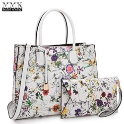 528fcee6f91 MMK Collection Fashion Women Purses And Handbags Ladies Designer Satchel  Handbag Tote Bag Shoulder Bags With Coin Purse XL-MA-23-7661-W Flower