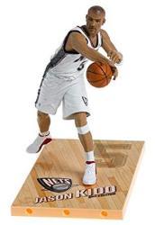 """Nba Series 8 Figure: Jason Kidd With White """"nets"""" Jersey"""
