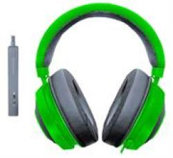 Razer Kraken Tournament Edition Green Gaming Headset - 3.5 Mm Connector 1.3M Cable 50 Mm Drivers Retail Box 1 Year Warranty Highlights:• Individually Tuned