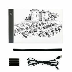A4 LED Light Box Brightness Adjustable For Tracing Ultra-thin Drawing Light Pad Tracer With USB Cable For Diamond Painting Sketc