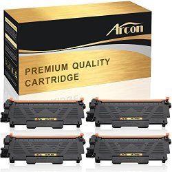 AR's BrOther Inc. Arcon 4 Packs Compatible For BrOther TN-660 TN660 TN630 TN-630 Toner Cartridge Mfc L2740DW L2700DW HL-L2380DW HL-L2340DW L2300D L2540DW MFC-L2700DW MFC-L2740DW HL-L2320D MFCL2700DW DCP-L2540DW
