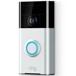 Ring Video Doorbell Satin Nickel
