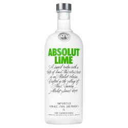 ABSOLUT - Vodka Lime 750ML