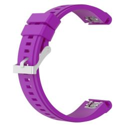 Replacement Classic Silicone Bands For Fenix 5X - Purple 26MM