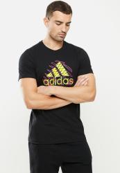 Adidas Performance Jngl LG T T-Shirt - Black