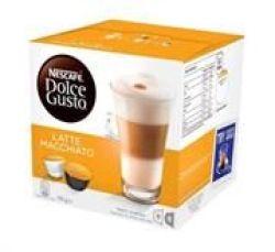 Nescafe Dolce Gusto Pods - Latte Machiatto - 16 Capsules Retail Box Out Of Box Failure Warranty