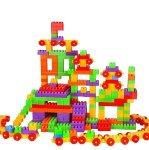 Multi Colored Building Block Set - 450 Piece