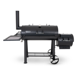 MegaMaster Alpha Grill & Smoker Offset Smoker Chimney