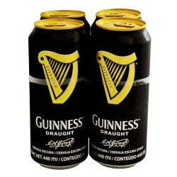 Guinness - Draught Can 4X440ML