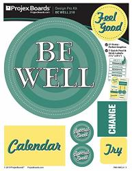 Design Pro 28 Poster Board Graphic Labels Lhwcl Health-care-wellness Self-adhesive Green Yellow Set Of 1