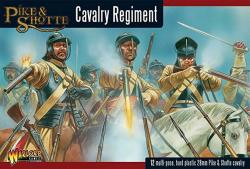 Pike & Shotte Cavalry Boxed Set - Warlord Games - 12 Hard Plastic Models