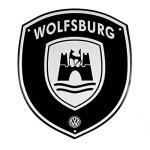 Volkswagen Genuine Vw Wolfsburg Crest Garage Street Sign