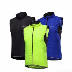 Mens Safety Sports Vest Windproof Waterproof Running Cycling Vest